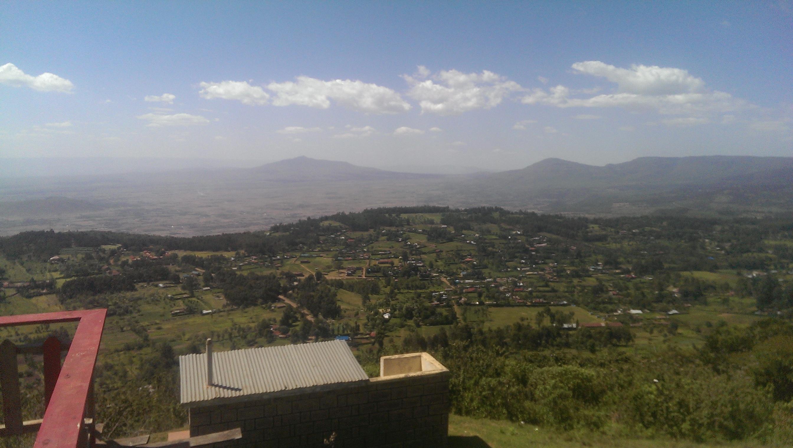 Arrival in Kenya